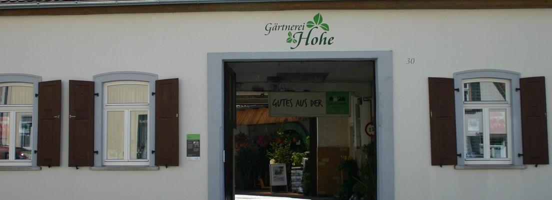 Gärtnerei Hohe