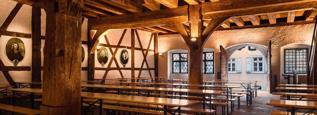 Zehnthausscheune, Brauerei Klosterbräu