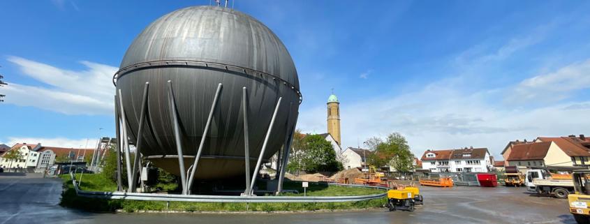 Außengelände Stadtwerke Bamberg